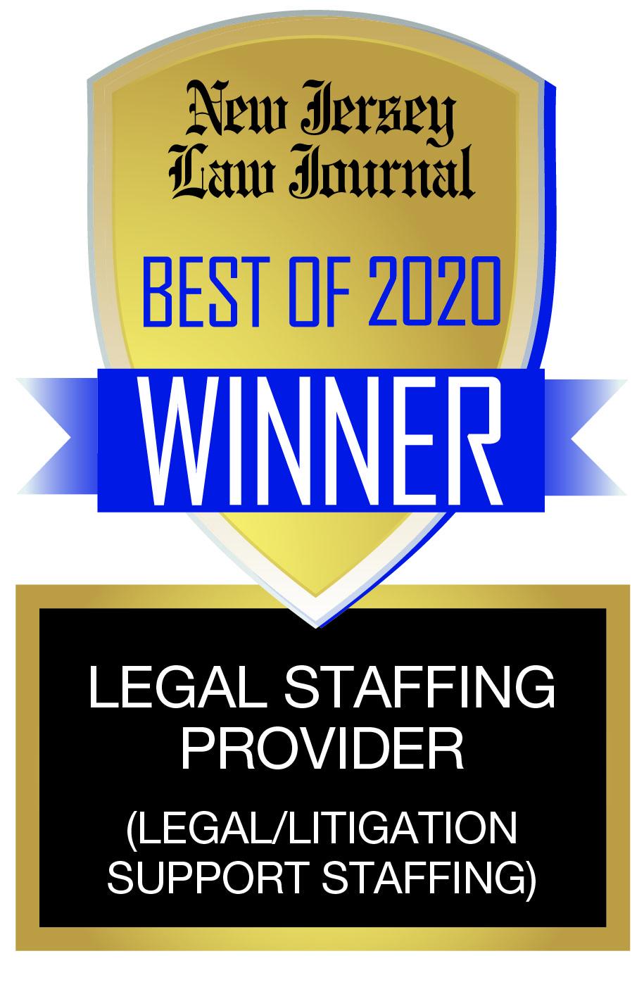 New Jersey Law Journal Winner